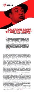 """Salvador Seguí """"El Noi del Sucre"""""""